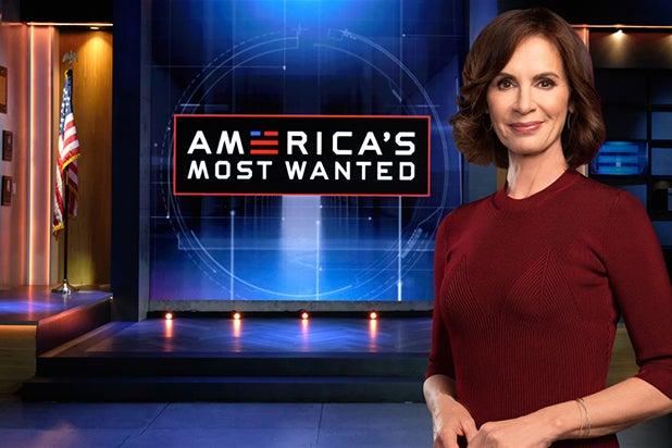 AMERICA'S MOST WANTED: Host Elizabeth Vargas.