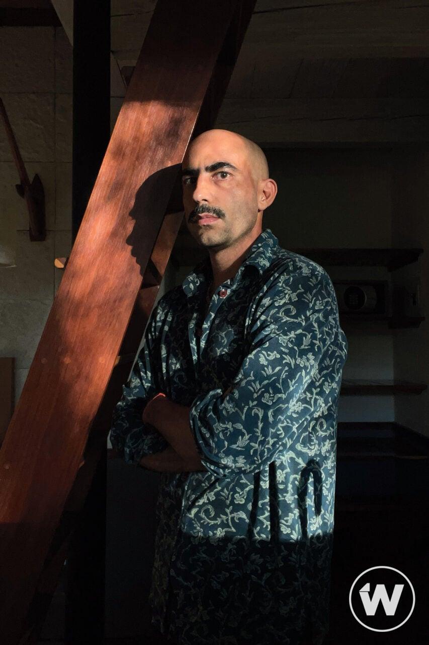 Fernando Frías self portrait