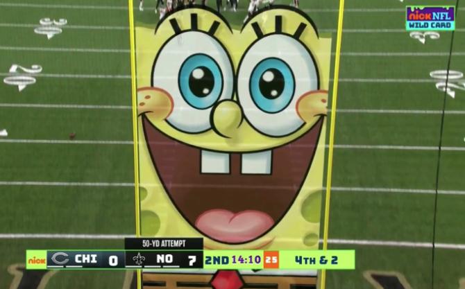 Spongebob Nickelodeon