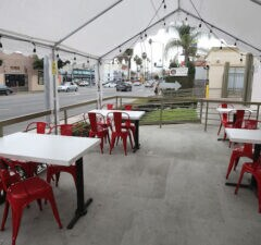 Los Angeles restaurant outdoor dining