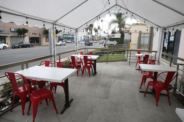 Los Angeles restaurant outdoor dining