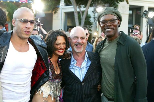 """Vin Diesel Asia Argento Rob Cohen Samuel L. Jackson """"XXX"""""""
