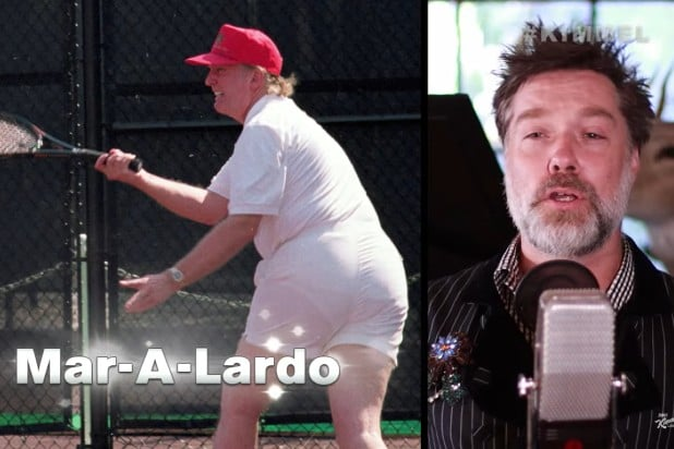 Jimmy Kimmel Rufus Wainwright Donald Trump