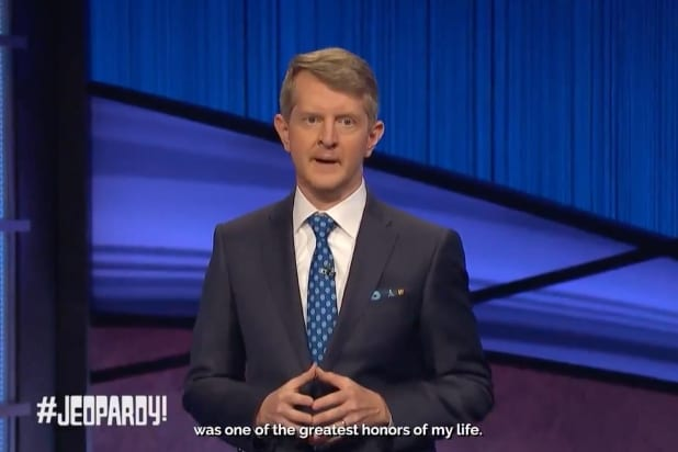 'Jeopardy!': Ken Jennings Begins First Episode as Guest Host With a Speech Honoring Alex Trebek (Video)
