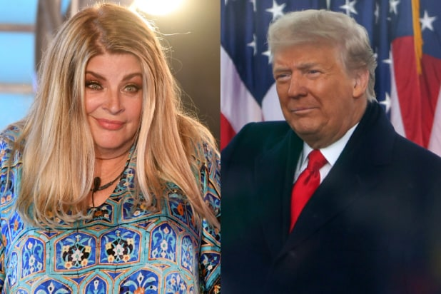 Kirstie alley trump