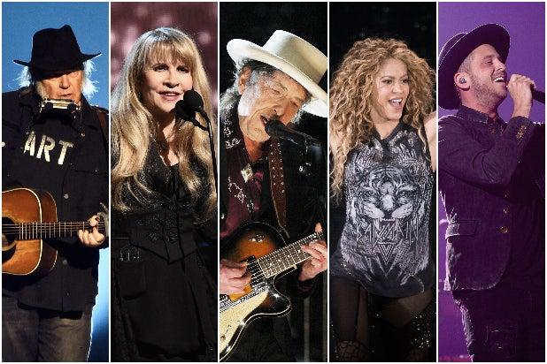 Neil Young Stevie Nicks Bob Dylan Shakira Ryan Tedder Music Catalogs