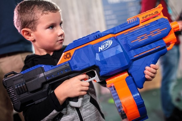 Nerf Gun Toy Retailers Association 2018