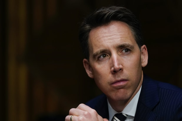 Sen Josh Hawley's Book Lands New Publisher After Simon & Schuster Cancellation