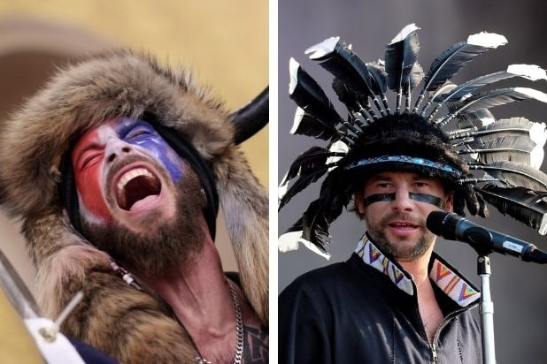 No, the Capitol 'Viking' Rioter Is Not Jamiroquai's Lead Singer: 'I Wasn't With All Those Freaks' (Video)