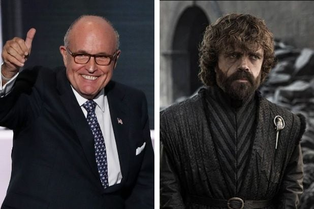Rudy Giuliani Says Tyrion From 'Game of Thrones' Inspired His Capitol Riot Speech