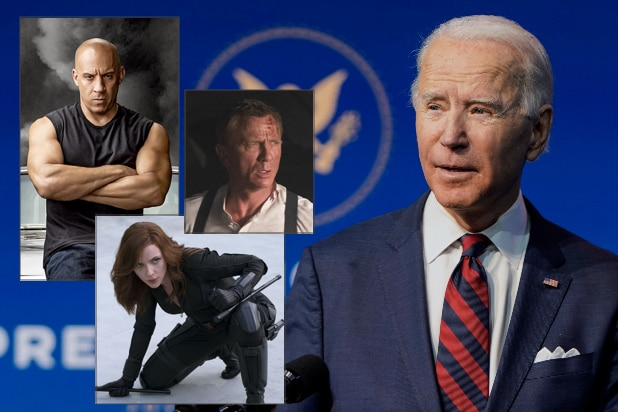 joe biden F9 black widow no time to kill