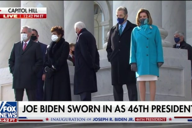 Chris Wallace Caught on Hot Mic Mocking Brit Hume During Inauguration (Video)