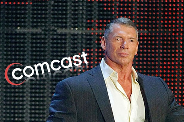 comcast vince mcmahon