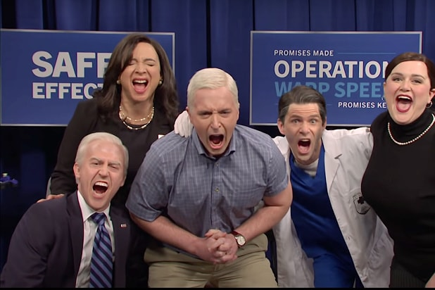 is there a new snl episode airing this week joe biden