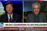 tucker carlson wants to know about the aliens right now