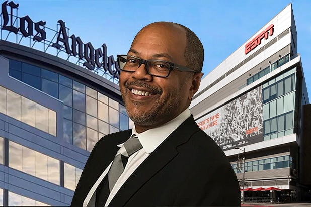 Kevin Merida, LA Times and ESPN offices