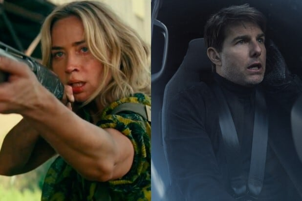 quiet place mission impossible paramount