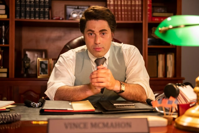 Adam Ray as Vince McMahon in Young Rock