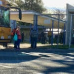 Apple TV filming at Kester Elementary School Sherman Oaks