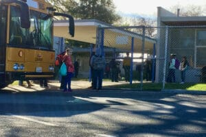Apple TV filming at Kester Elementary School Sherman Oaks