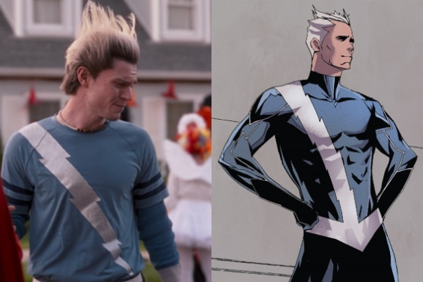 quicksilver comic wandavision