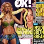 Britney Spears tabloid covers