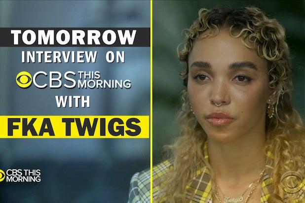 FKA Twigs Shia LaBeouf CBS This Morning