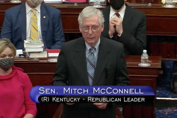 Mitch McConnell Trump impeachment trial