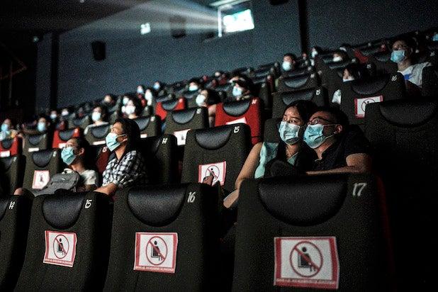 Movie Theater Wuhan Lockdown