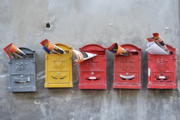 Mailboxes and newsletters