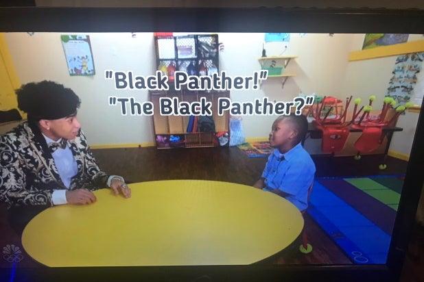 Kids Black Panther Golden Globes
