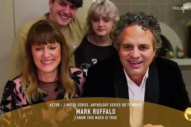 Mark Ruffalo Golden Globes
