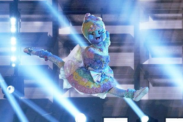 Masked Dancer Cotton Candy