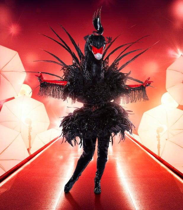 Masked Singer Black Swan