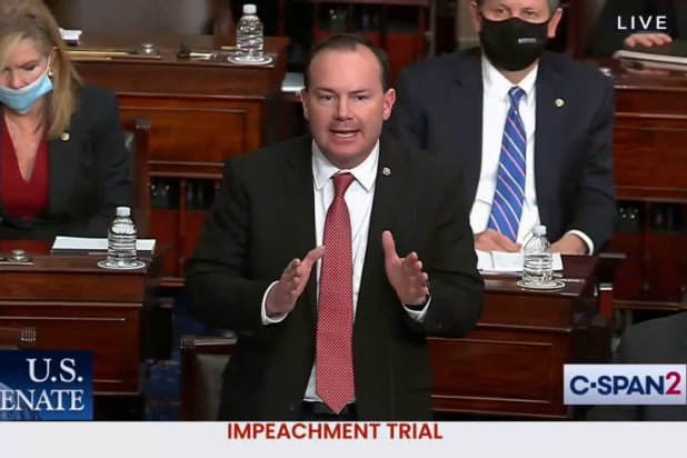 Mike lee is claiming report he previously confirmed is actually not true