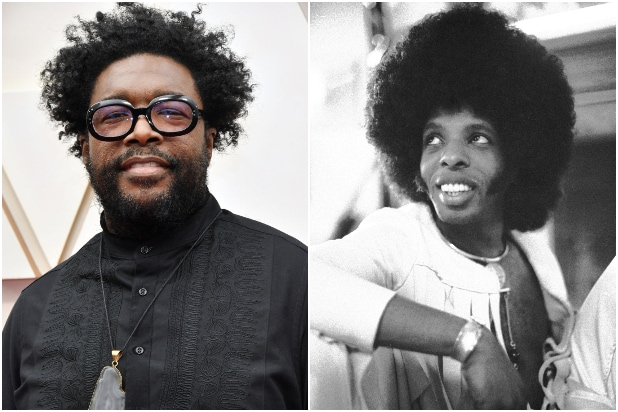 Questlove Sly Stone Sly and the Family Stone