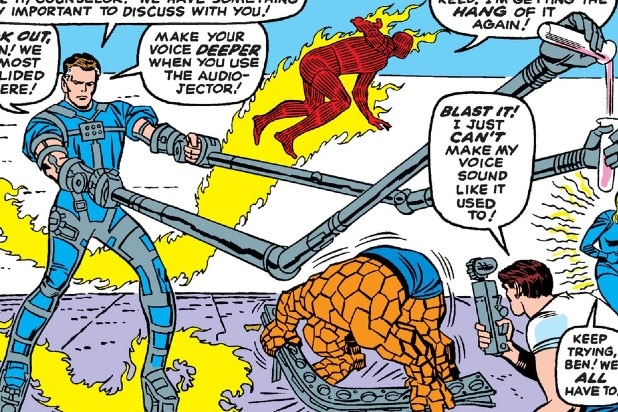 Reed Richards Fantastic Four Mechanical Limbs