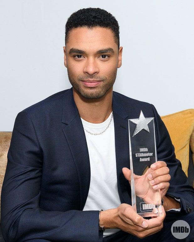 Rege Jean Page StarMeter Award