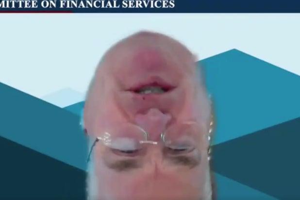 rep emmer upside down zoom