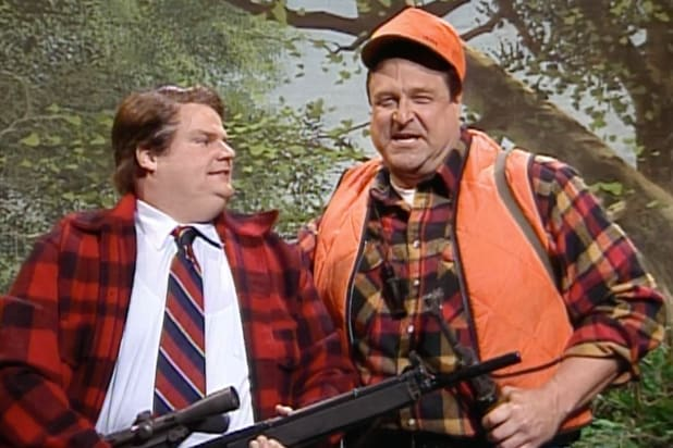 Watch Chris Farley and Taran Killam Parody Rush Limbaugh on 'SNL' (Video).jpg