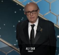 Ali Sar Golden Globes