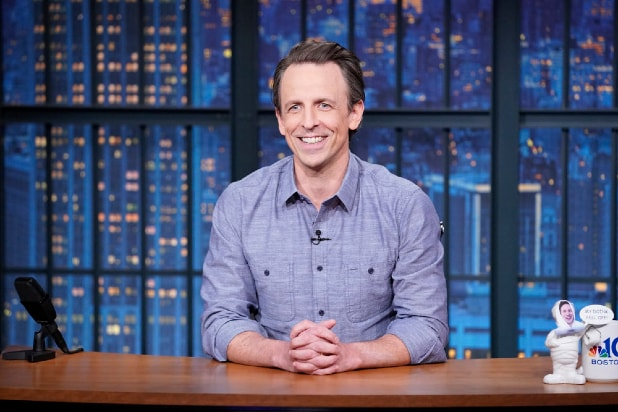 Seth Meyers Signs on to Host NBC's 'Late Night' Through 2025