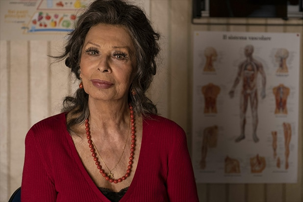 "Sophia Loren in ""The Life Ahead"""