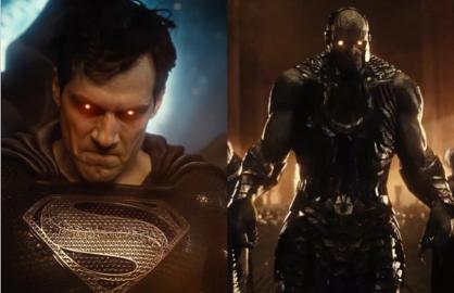 Superman Darkseid Zack Snyder's Justice League