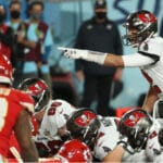 Tom Brady in Super Bowl LV