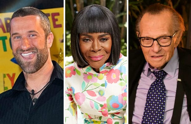 dustin diamond cicely tyson larry king