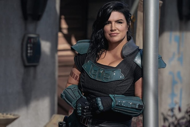 gina carano was fired from the mandalorian for being terrible and conservatives are mad because they are also terrible Disney Bob Chapek