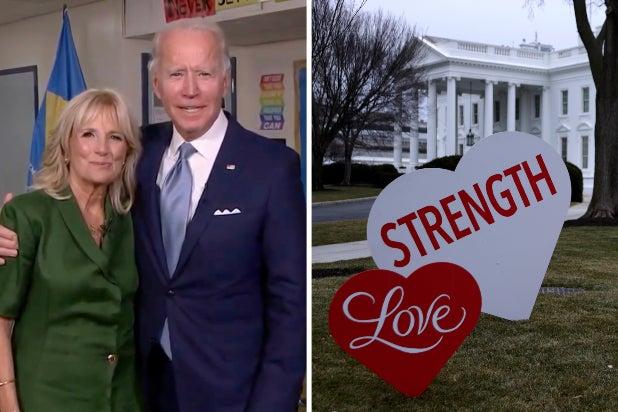 jill biden joe biden white house valentines