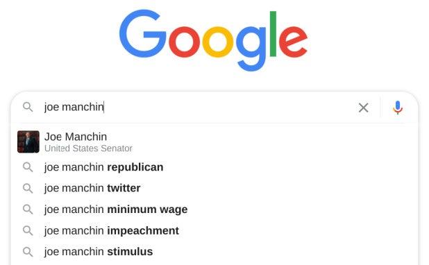 joe manchin republican google