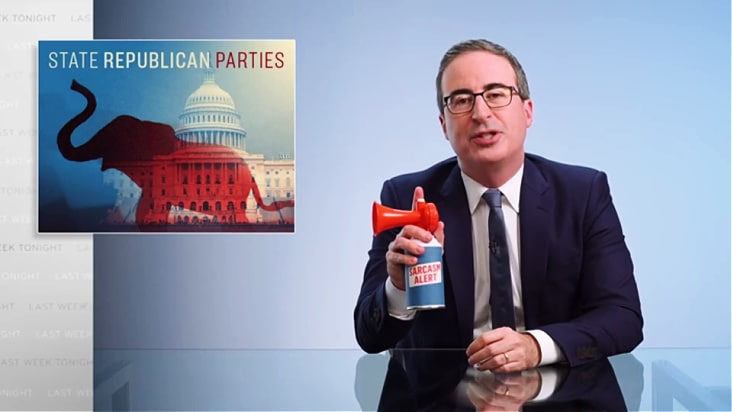 John Oliver: Democrats 'Don't Seem Remotely Prepared' to Fight Republican Threats (Video)